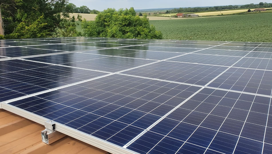 Fly Sussex Solar PV Installation