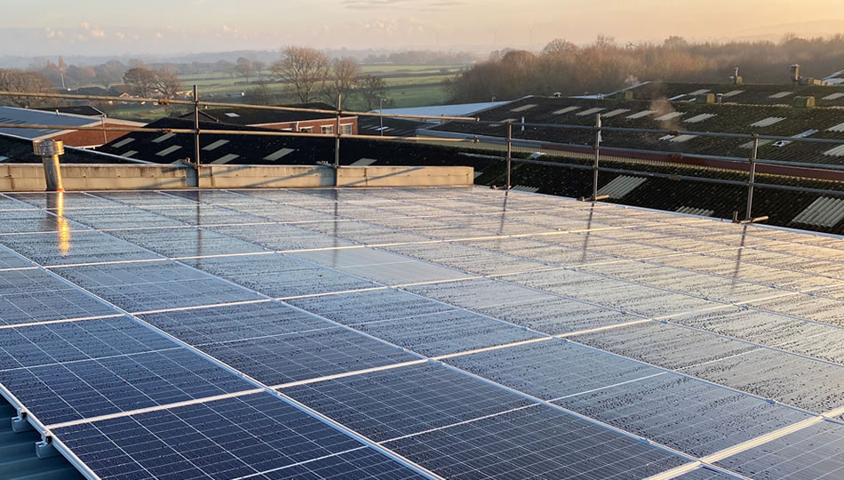 Solar PV with Export Limitation